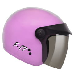 Capacete Fly F17 Rosa